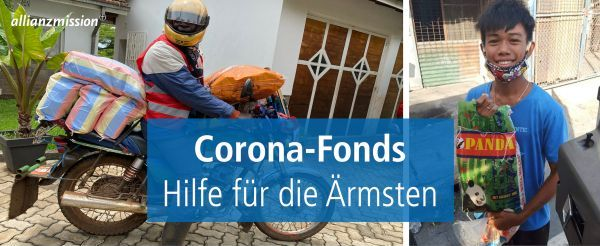 Corona-Fonds der Allianz-Mission
