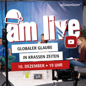 AM live Weihnachts-Edition am 10. Dezember