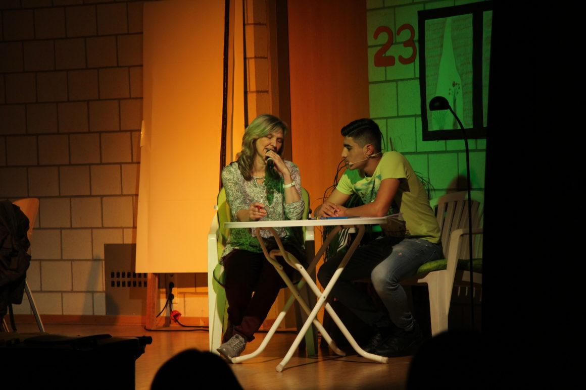 Reichlich Theater mit jugendlichen Migranten