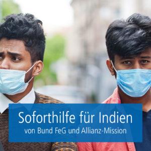 Soforthilfe für Indien