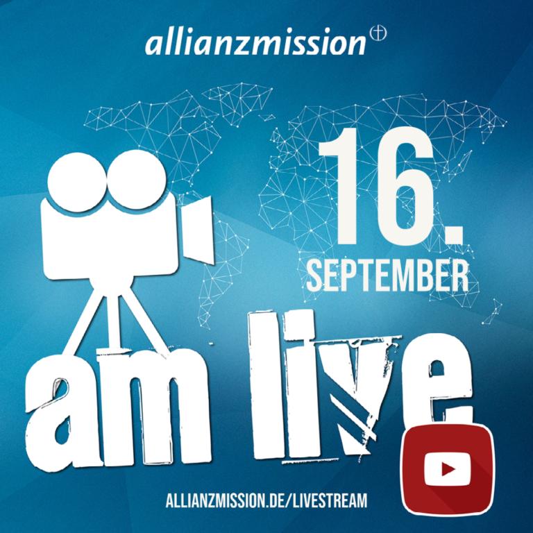 AM live #8 – Globaler Glaube in krassen Zeiten