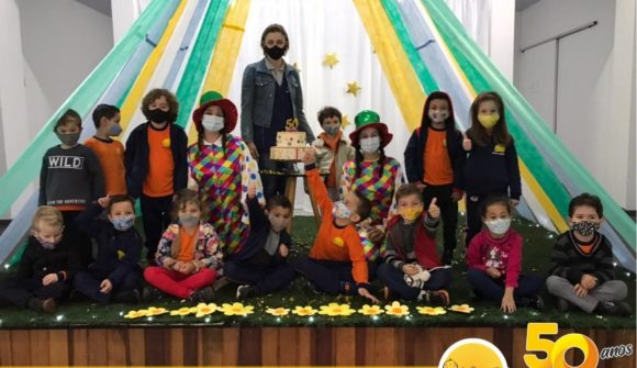 50 Jahre Bildung für brasilianische Kinder